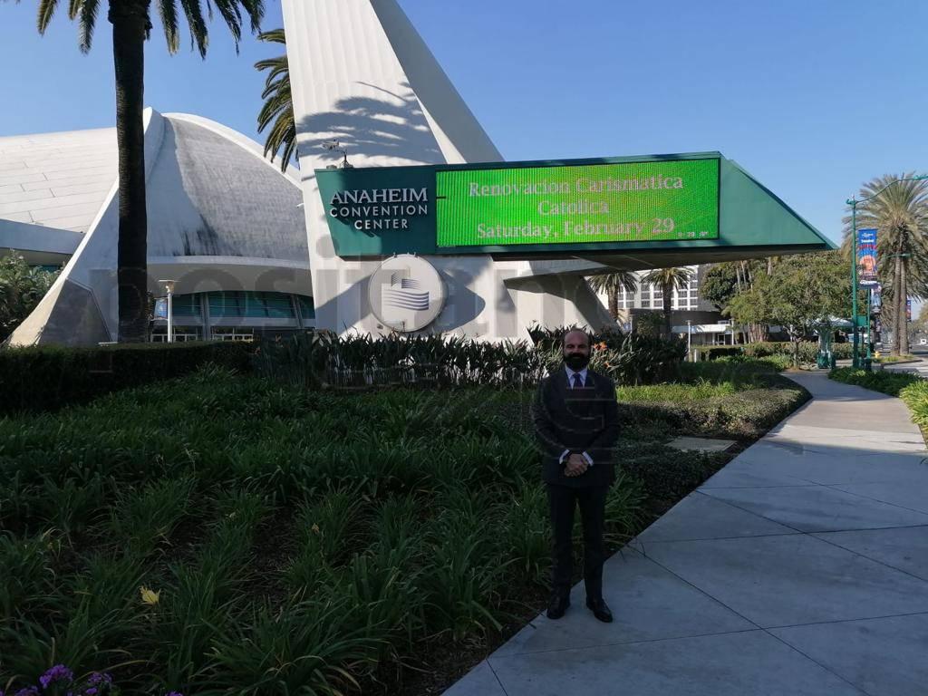 Luigi Alfano a Los Angeles per meeting dell'Accademia Americana delle Scienze Forensi
