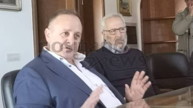 marco fiorentino candidato sindaco conferenza stampa