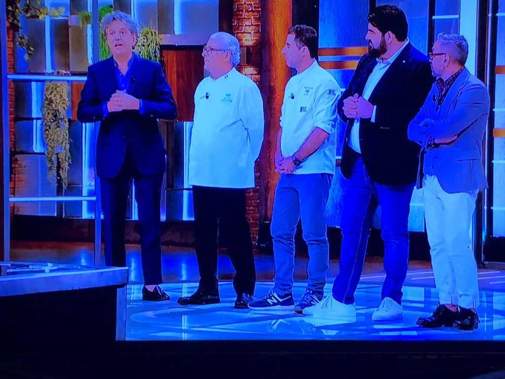 Master Chef Cannavacciuolo e don Alfonso