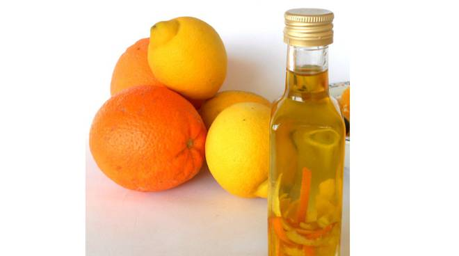 olio aromatizzato arancia
