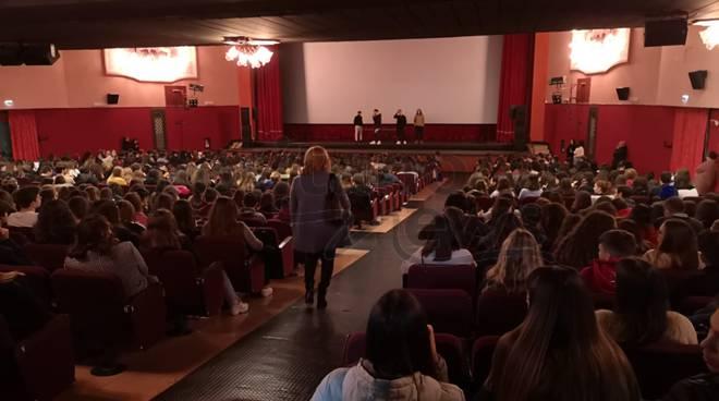 Piano di Sorrento assemblea Liceo incontra don Rito Maresca