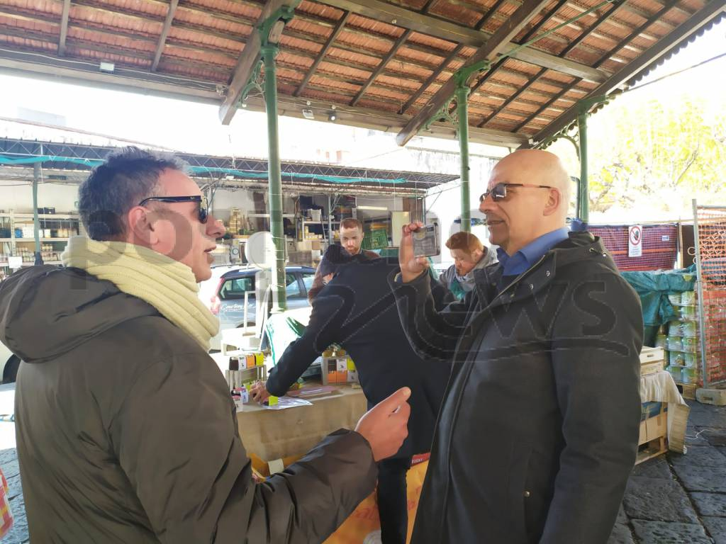 Piano di Sorrento. Mercato Slow Food tra splendidi odori e sapori