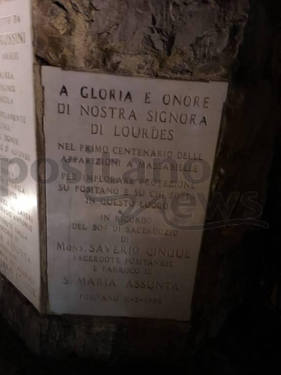 Positano, Madonna di Lourdes