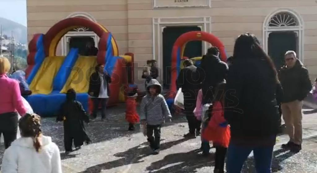 Positano. Parte il Carnevale a Montepertuso