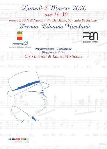 Premio Nicolardi locandina