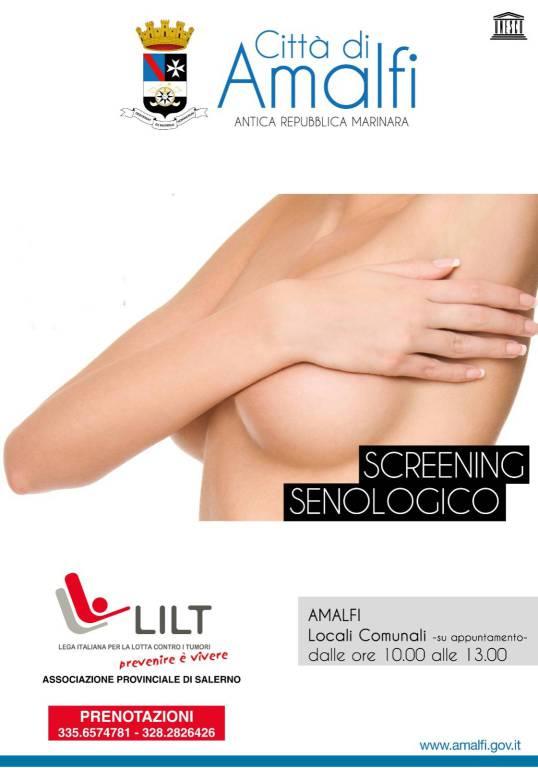 prevenzione tumore al seno amalfi
