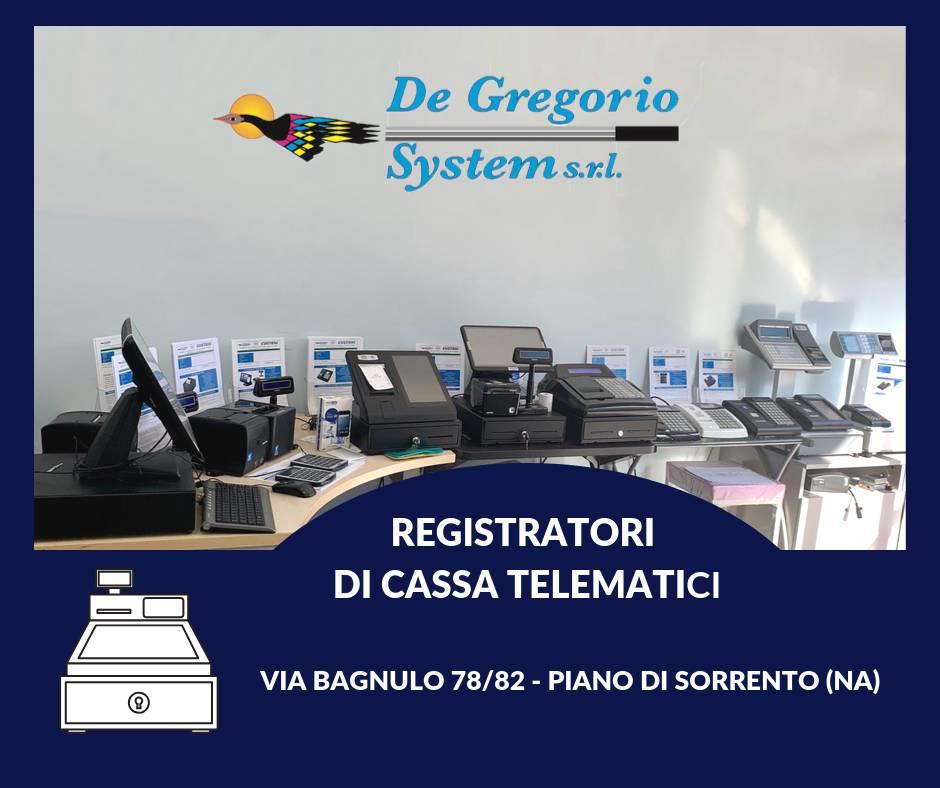 registratori di cassa de gregorio system