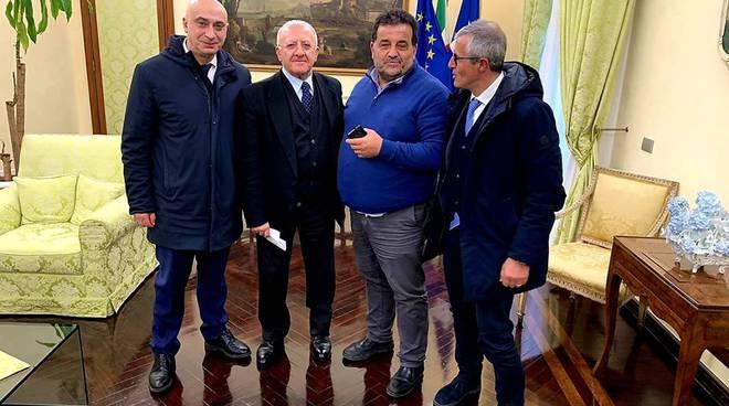 Via Lavinola incontro a Napoli Regione Campania