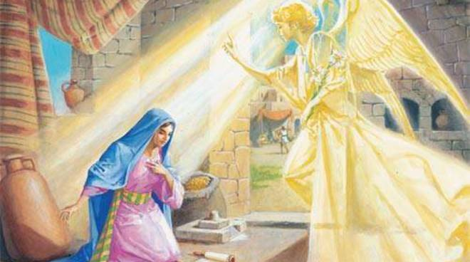 25 marzo : l'Annunciazione dell'arcangelo Gabriele