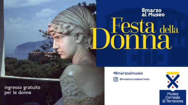 8 marzo ingresso gratuito donne museo correale