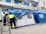 A Sorrento arriva una nuova tenda per il triage
