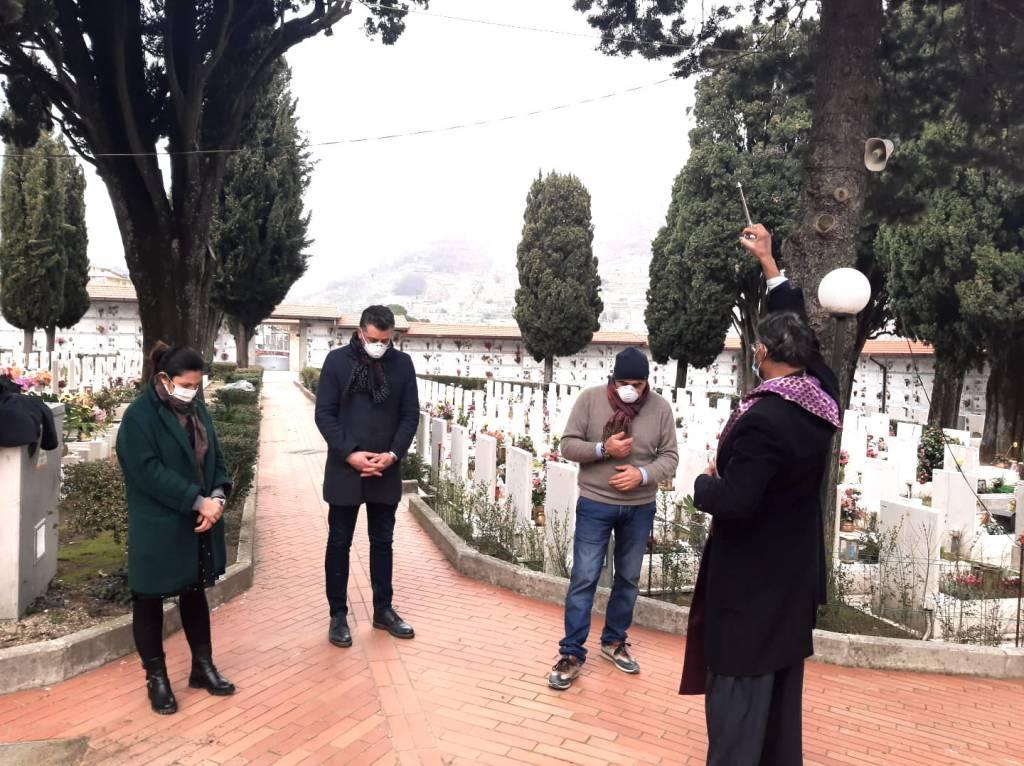 Agerola, il tributo del sindaco Luca Mascolo ai defunti