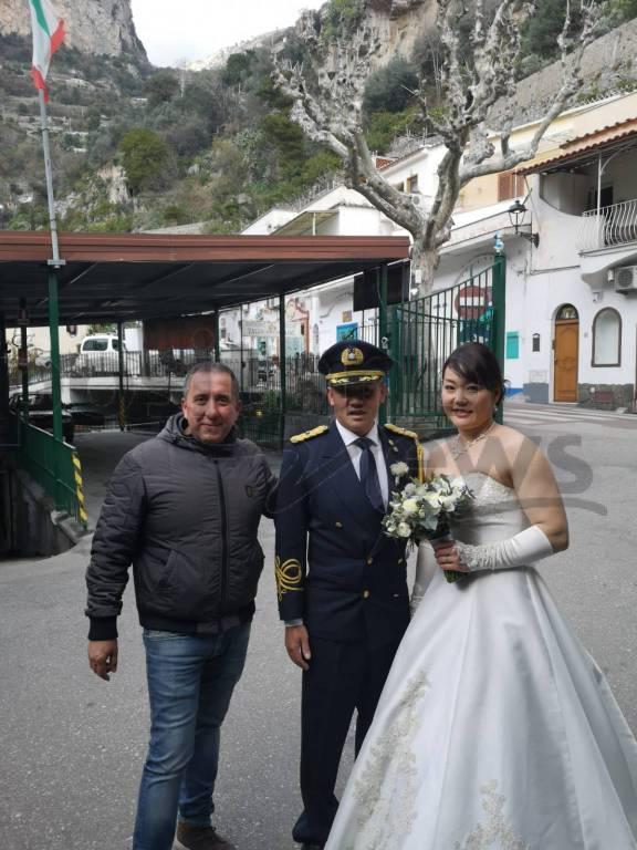 matrimonio positano