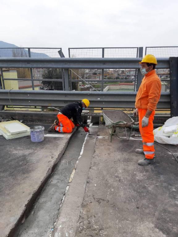 Campania, ANAS: proseguiti anche nel weekend i lavori di sostituzione dei giunti di dilatazione sul viadotto San