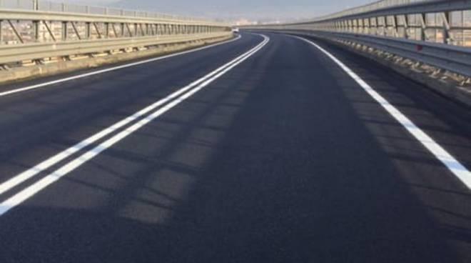 Campania, ANAS. Ultimati i lavori di pavimentazione sul viadotto San Marco, lungo la SS145 Sorrentina