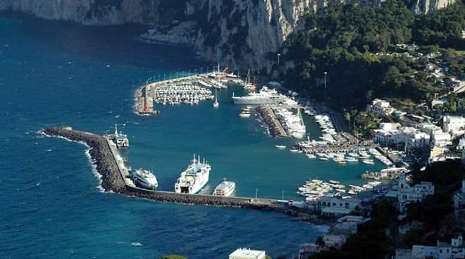 Capri. Emergenza Coronavirus: sistema di controllo nei punti di imbarco