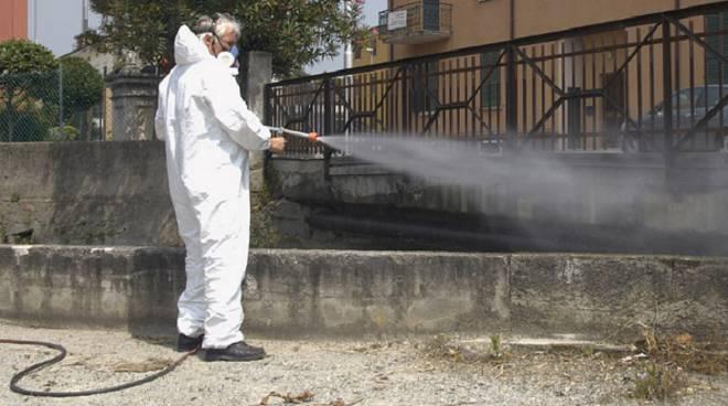 disinfezione strade
