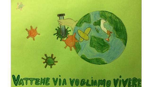 ic costiero, alunni contro il virus