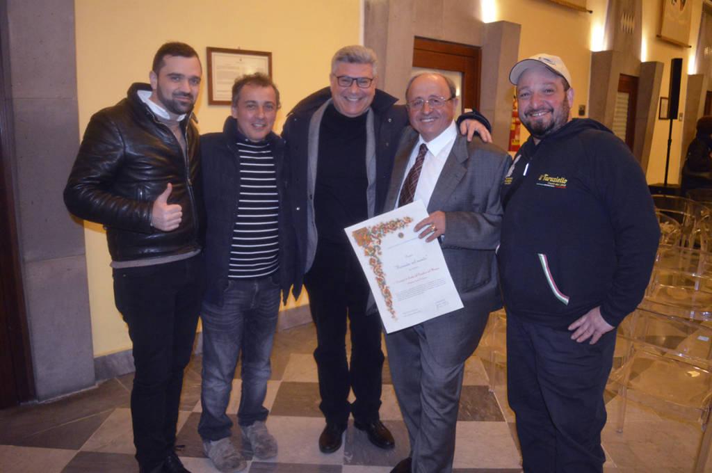 Il premio: Provolone del Monaco ambasciatore di Sorrento nel mondo