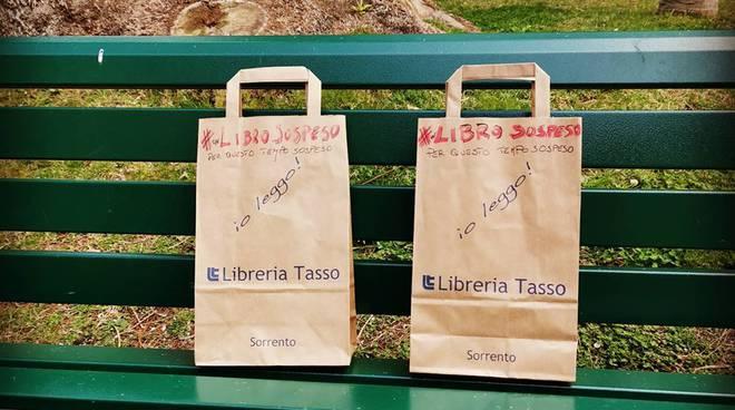 """Sorrento. L'iniziativa della Libreria Tasso: """"Un libro sospeso"""""""