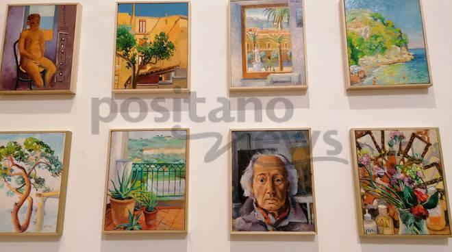 Sorrento. Le opere del pittore Vincenzo Stinga a Villa Fiorentino