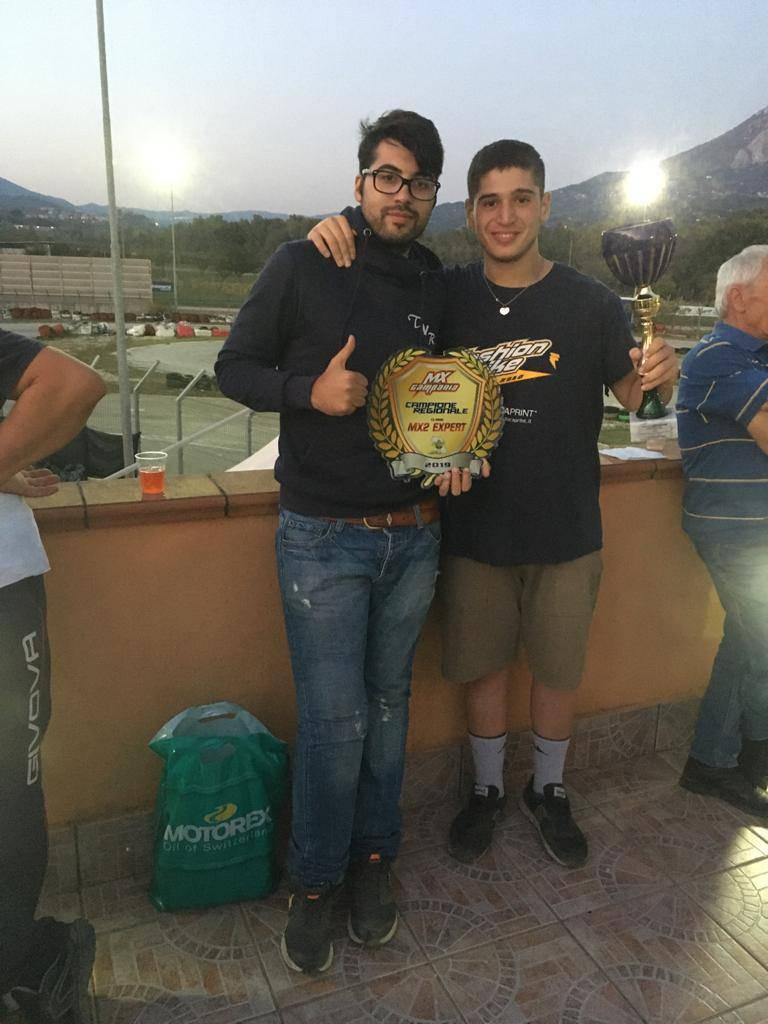 Sorrento. Luciano Bianchi campione di motocross