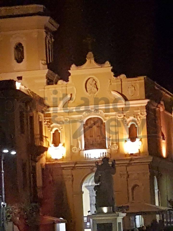Sorrento piazza Tasso sera Coronavirus Covid - 19