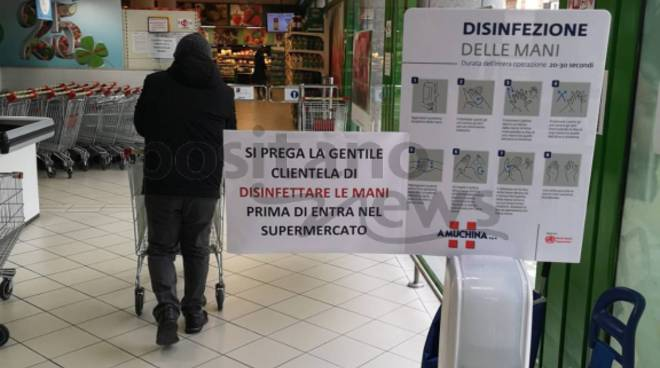 supermercato tre esse gel igienizzante
