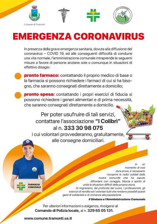 Tramonti Emergenza Coronavirus