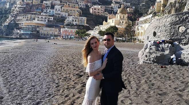 Wedding a Positano. Si tratta di un servizio fotografico