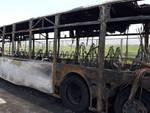 autobus fiamme domitiana