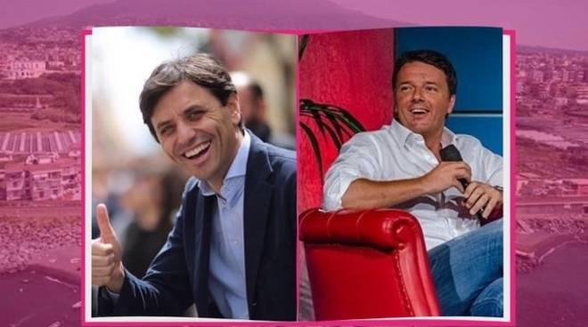 La voce del sindaco di Ercolano Ciro Buonajuto in diretta Instagram con il senatore Matteo Renzi