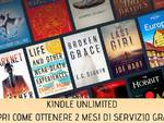 Coronavirus, Amazon regala 2 mesi di Kindle Unlimited per leggere nel periodo di quarantena