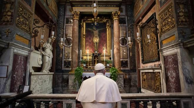 Domenica delle Palme, Papa Francesco celebra la messa in streaming: dove vederla