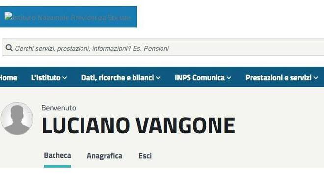 Luciano Vangone INPS