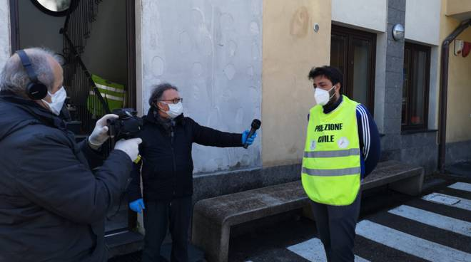 """Piano di Sorrento. Emergenza Coronavirus, protezione civile: """"alla prima consegna un signore ha pianto"""""""