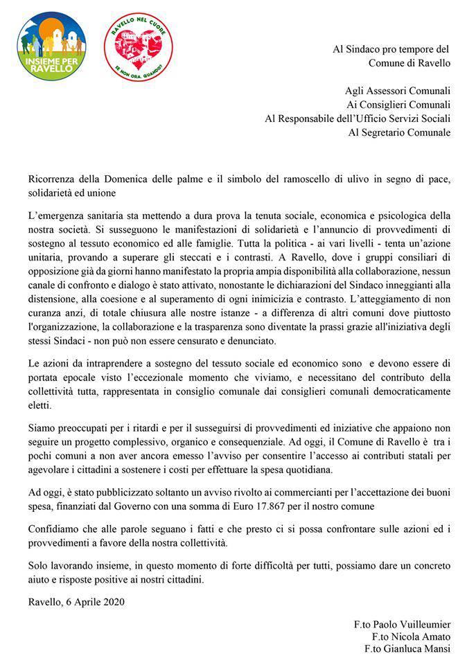 Ravello. Scontro tra il Sindaco Di Martino e il Consigliere Mansi