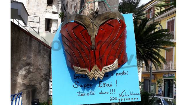 wonder woman ospedale sorrento