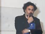 2 - Antonio Picariello alla personale di Renato Marini, 1998.
