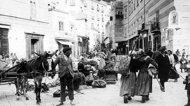 Amalfi mercato 1905