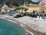 Amalfi spiagge dopo il lockdown