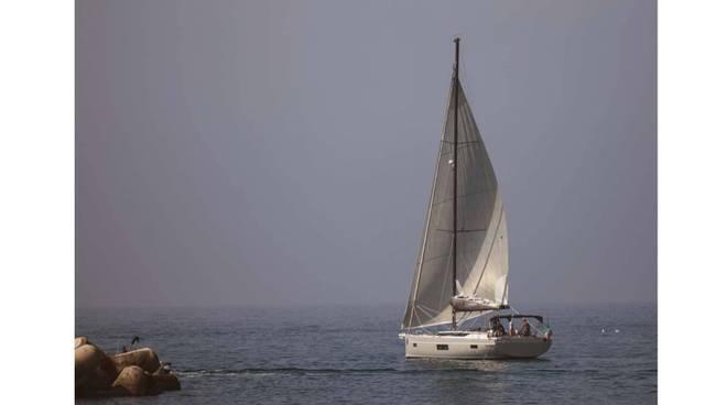 barca a vela capri