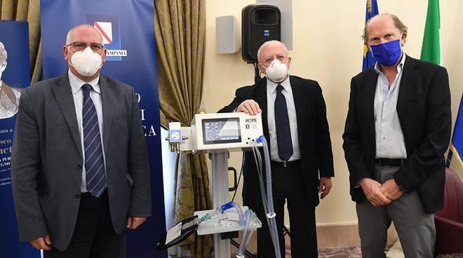 Campania. 7 milioni per la ricerca contro il Coronavirus, promosso il progetto per produrre ventilatori polmonari