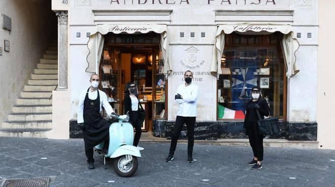 """L\'iniziativa del Distretto Costa d\'Amalfi , sotto il cappello Authentic Amalfi Coast \""""Storie di ripartenza: i fratelli Pansa\"""""""