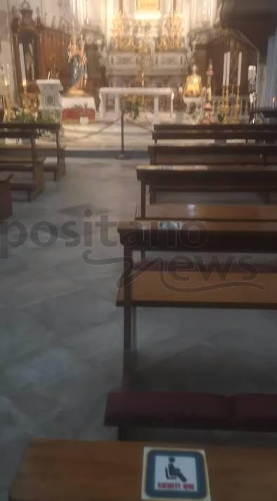 chiesa positano riapertura