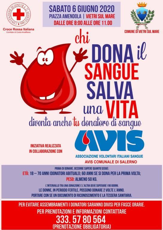 donazione sangue vietri