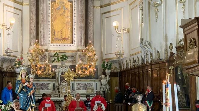 Fine dell'emergenza Covid a Positano. Messa Solenne di ringraziamento alla Madonna