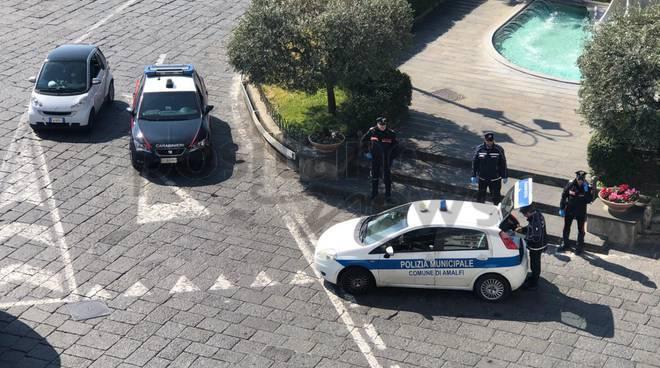 Grande lavoro dei Carabinieri di Positano, multe anche ad Amalfi e Ravello
