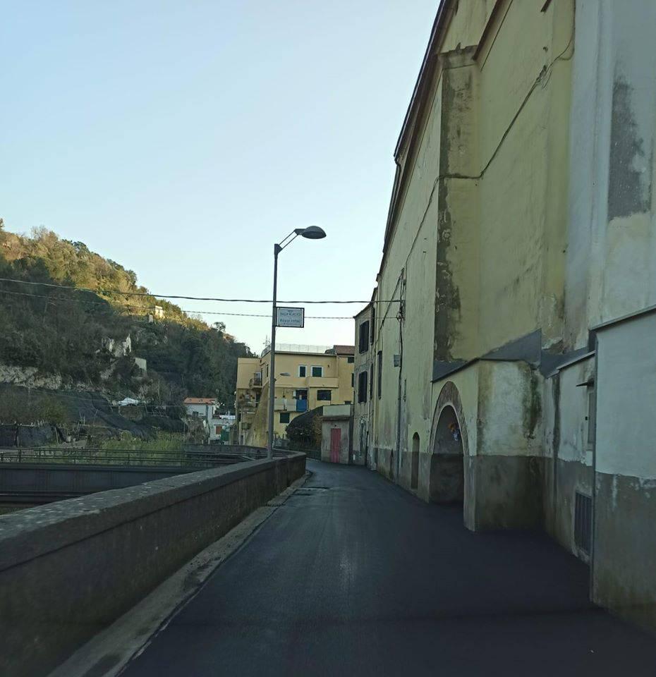 Maiori. Rifacimento dell'asfalto in zona Madonna delle Grazie