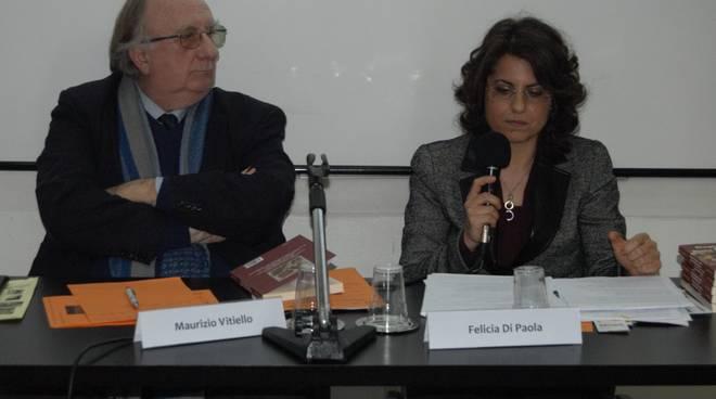 Maurizio Vitiello e Felicia Di Paola alla Fondazione Humaniter di Napoli